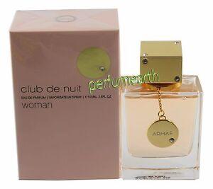 Club De Nuit By Armaf 3.6oz./105ml Edp Spray For Women New In Box