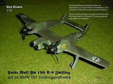 Focke Wulf Fw SUPER LORIN    1//72 Bird Models Resinumbausatz resin conversion