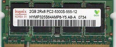 2GB eMachines D520/D525/D620/D725/E520/E525/E620/E625/E627/E725 DDR2 RAM Memory