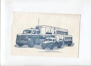 N-7852-prospectus-buvard-camion-BERLIET-et-liqueur-Benedictine