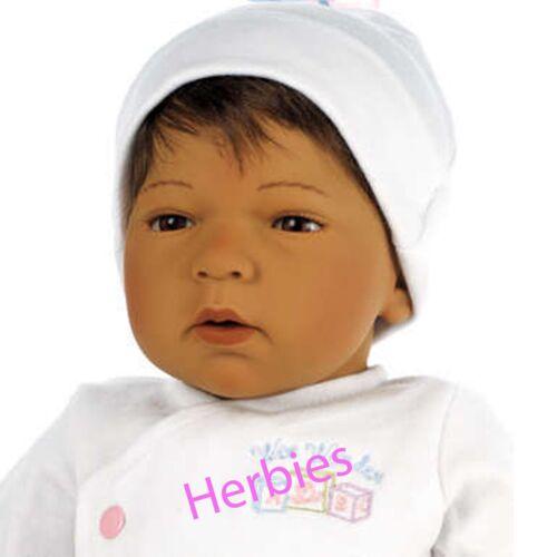 Med Skintone Lee Middleton Dolls  Newborn Nursery Wee Wonder  Sleepy Head