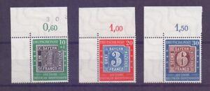 Bund-1949-MiNr-113-115-Eckrand-Satz-postfrisch-Michel-100-00-976