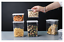 Sealed Plastic Kitchen Storage Box Transparent  Food Can Nordic Organizer Tools