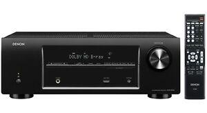 Denon-avr-x500-5-1a-v-receptor-140w-HDMI-OSD-Dolby-True-HD-sintonizador-RDS-accesorios