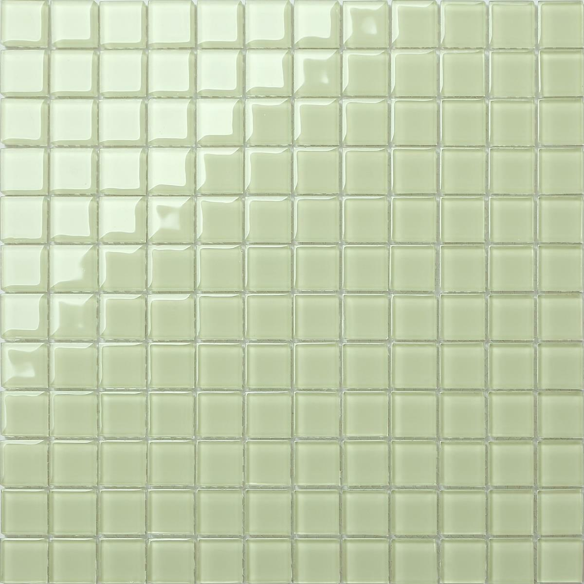 1 SQM Glass Mosaic Wall Tiles Light Grün (300x300x4mm) GTR10021 m2