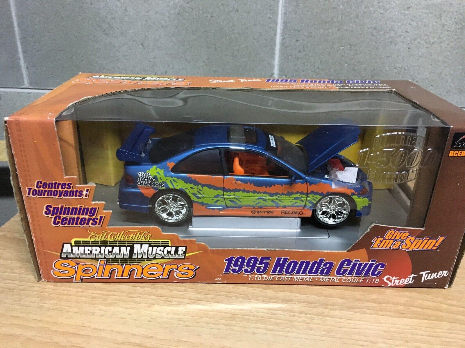 Honda Civic 1 18 American Muscle Ertl