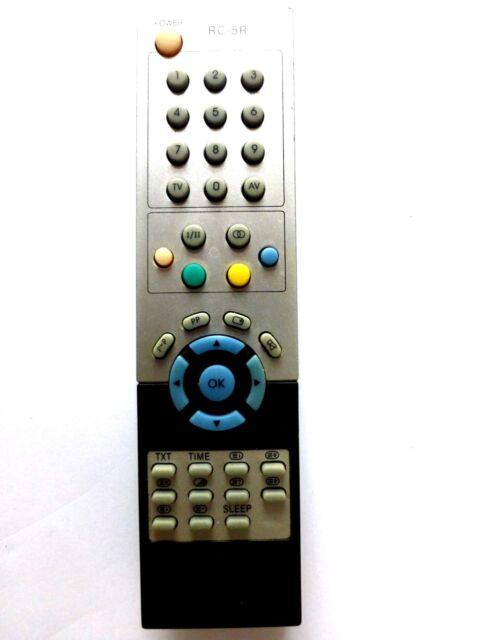DURABRAND TV REMOTE CONTROL RC-5R