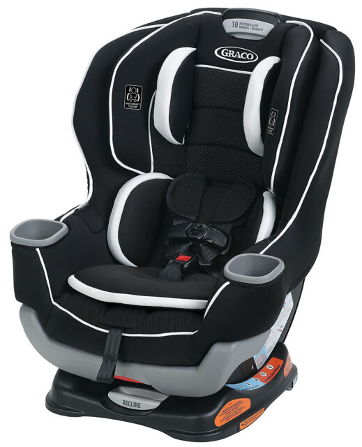 Graco 2047736 Extend2fit Convertible Car Seat Binx