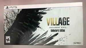 Resident Evil 8 VIII Village Collectors Edition Premium Packaging for PS5 ONLY