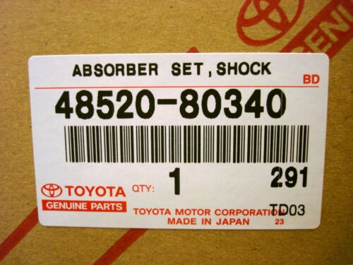 Toyota Rav4 06-08 JPP Limited Front Struts Genuine OEM OE