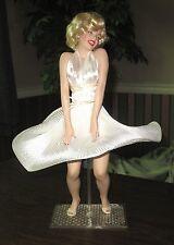 "Franklin Mint Heirloom Marilyn Monroe Porcelain Doll ""7 Year Itch"""