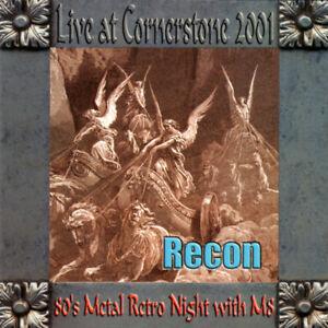 RECON-Live-At-Cornerstone-4-bon-trks-CD-12-trks-FACTORY-SEALED-NEW-2001-M8-USA