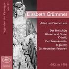 Legenden Des Gesangs Vol.11 von Elisabeth Grümmer (2010)