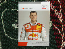 2006 DTM AUDI SPORT DRIVER INFO CARD - MARTIN TOMCZYK