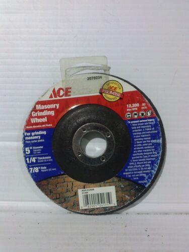 5x1//4x7//8 Depressed Center Masonry Grinding Wheel Qty:10pcs AE028-10 2079234