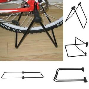 BIKE Stand Regolabile Pavimento parcheggio bicicletta rack di stoccaggio pieghevole Holder FI