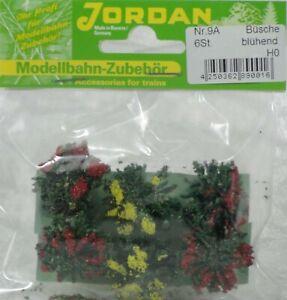 Jordan-H0-9-A-Set-6-Buesche-bluehend-Hoehe-ca-1-5-cm
