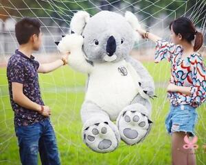 New-75cm-Giant-Australia-Koala-Cotton-Soft-Plush-Doll-Stuffed-Animal-Toy-Gift-us