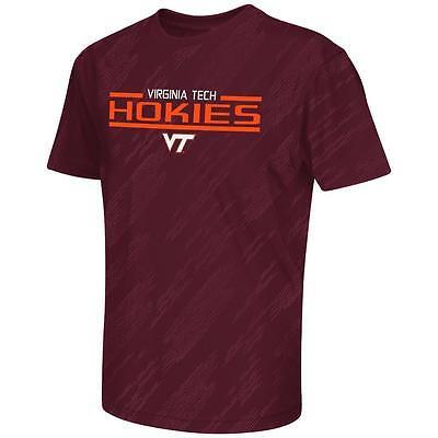Youth NCAA Virginia Tech Hokies Performance Short Sleeve Tee Shirt [EXTS40289]