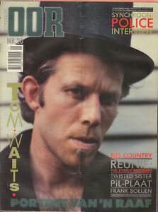 MAGAZINE-OOR-1983-nr-20-TOM-WAITS-FRANK-BOEIJEN-POLICE-DIE-HAUT-BIG-COUNTRY