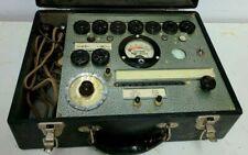 Antique Hickok Model 46 Tube Testertesting Machine Dated 4 6 1934