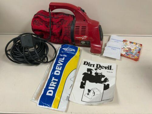 Handy Zip Dirt Devil Handheld Portable Vacuum Cleaner