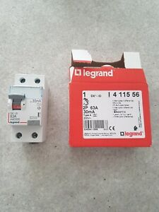 LEGRAND 411556 Inter Différentiel 2P 63A 30mA Type A