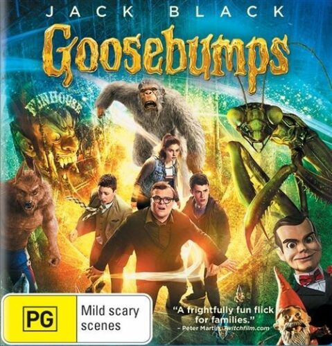 1 of 1 - Goosebumps (Blu-ray, 2016) New, ExRetail Stock (D134)