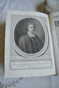 1698 Mémoires pour servir a l'histoire  Ecclésiastique Tome 5 Charles Robustel