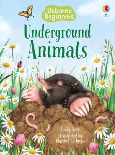 Emily Bone-Underground Animals BOOKH NEUF