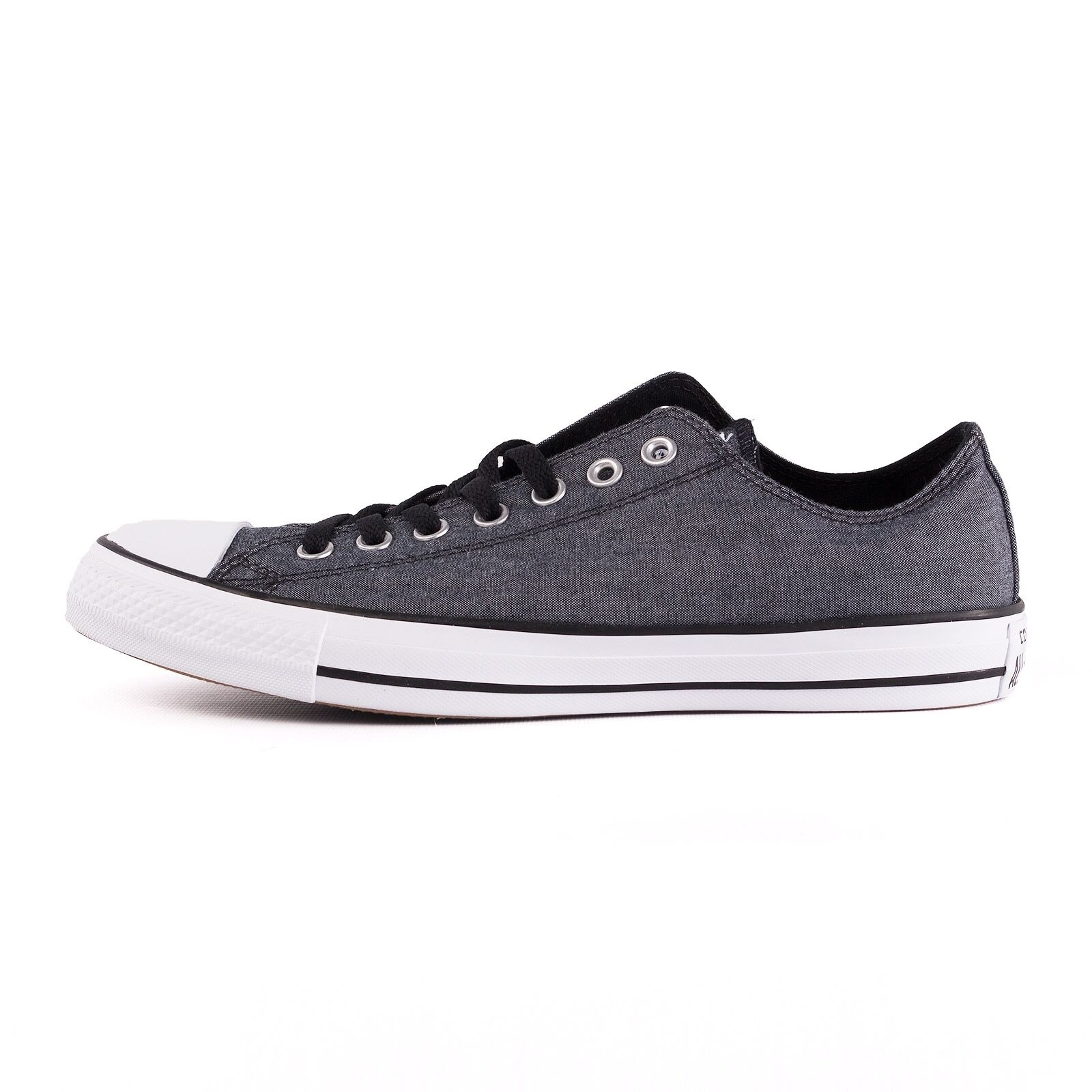 Converse ctas zapatillas Ox caballero zapatillas ctas zapato, Negro/Blanco, 51230 451bf7