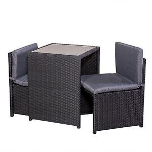 Balkonset-Rattan-Tisch-2-Sessel-2-Polster-Balkonmoebel-Terrassenmoebel-platzsparen