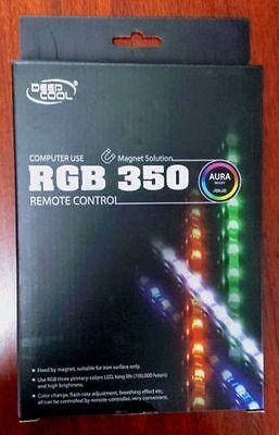 DEEPCOOL RGB350 Color LED Strips Computer Case Lights Set /& Remote