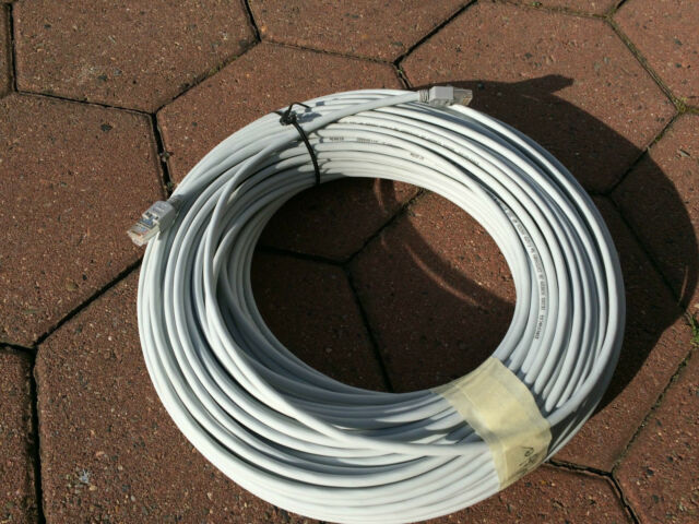 Patchkabel 70m Ring, DRAKA UC 300 F/UTP grau, Cat.5e, RJ 45