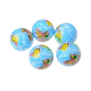 Weltkarte-Schaum-Gummiball-fuer-Baby-Stress-Bouncy-Ball-Geographie-Spielzeug-A-bc