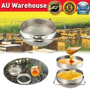 Honey-Filter-Strainer-Double-Layer-Stainless-Steel-Tea-Filter-Beekeeping-Tools