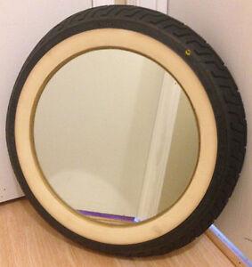 Harley Davidson Tire Wall Mirror Home Bar Man Cave Decor 25 Pick Up