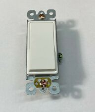 3 Way Rocker Decorative Switch 15a 120277v White Box Of 10