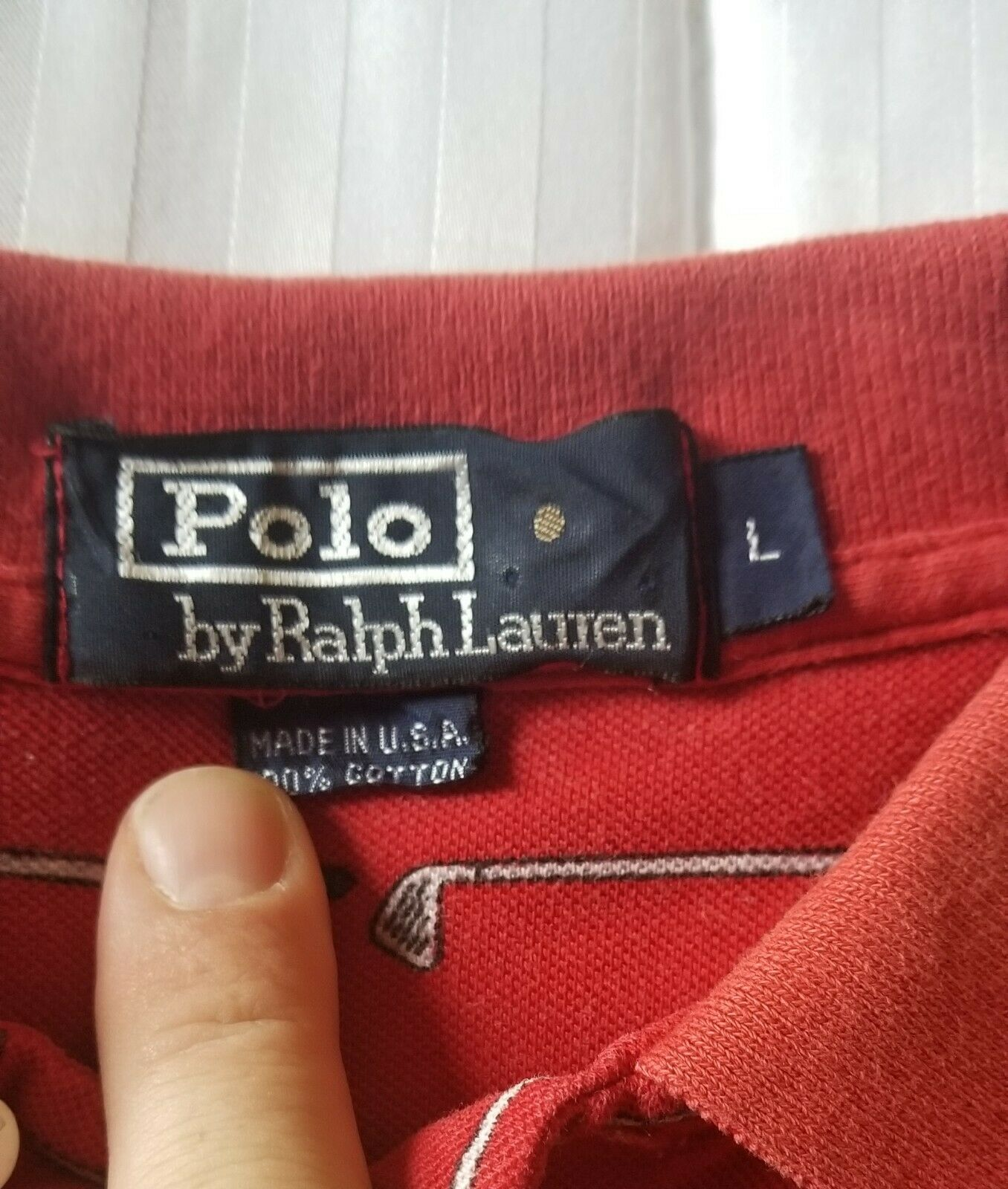 Vintage 80s Golf Polo By Ralph Lauren - image 2