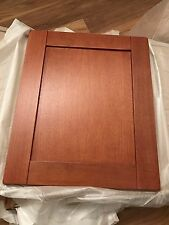 Cabinet Kitchen  600 mm   solid oak Door dark wood panel -cherry Shaker