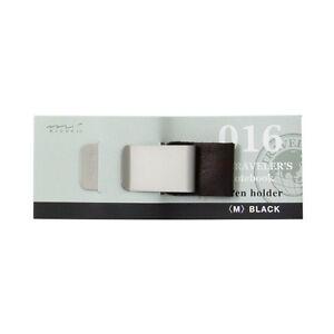 New traveler's notebook pen holder M black 016 14298006 MIDORI Free Postage F/S