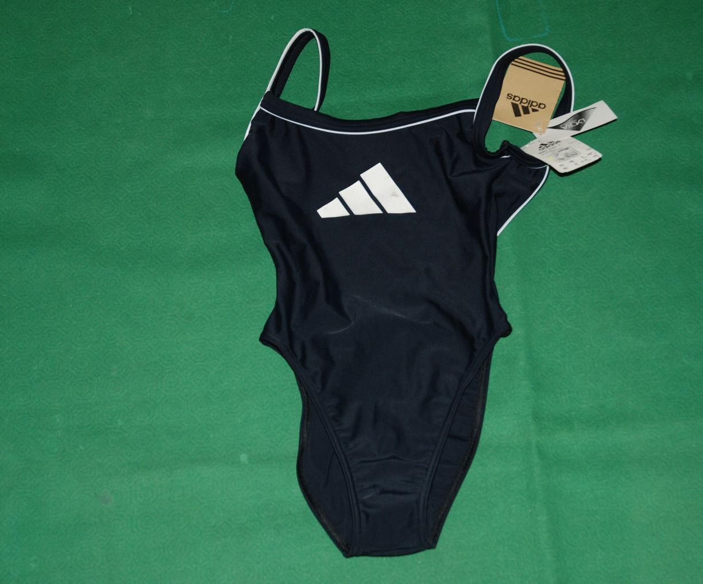 Vintage Adidas Equipment Swim Suit BNWT NOS bars suit 1 i40 swimmin pool costume