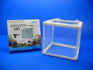 Separation Box Net for Aquarium Sick Injured Aggressive Newly Born Fish Tank