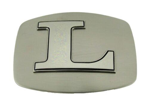 "Initial /""L/"" Letter Belt Buckle Alphabet Monogram Multiple Styles Cowgirl Western"