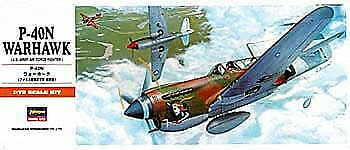 Hasegawa A9-00139 1//72 P-40N Warhawk