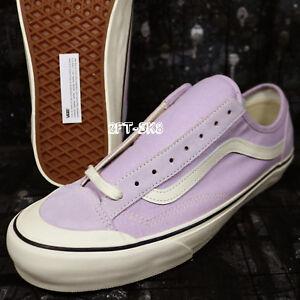 febe79b562 Vans STYLE 36 DECON SF SALT WASH LAVENDER FOG Men s Skate Shoes ...