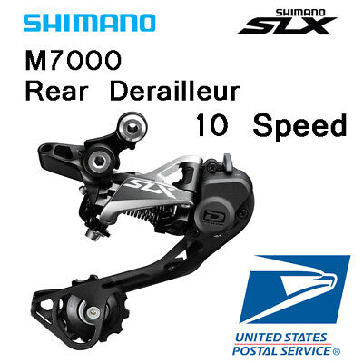 Shimano SLX RD-M7000 10 Speed Long Cage Rear Derailleur Black