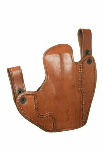 Concealed IWB Brown Leather Gun holster for H/&K USP COMPACT