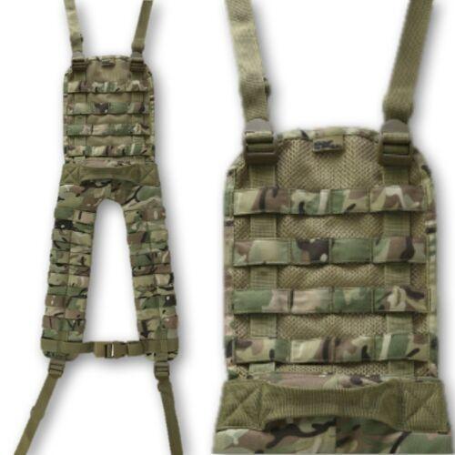 Militär-stil Molle Battle Joch Mtp Btp Camouflage Schwarz Britsh Armee Gewebe B