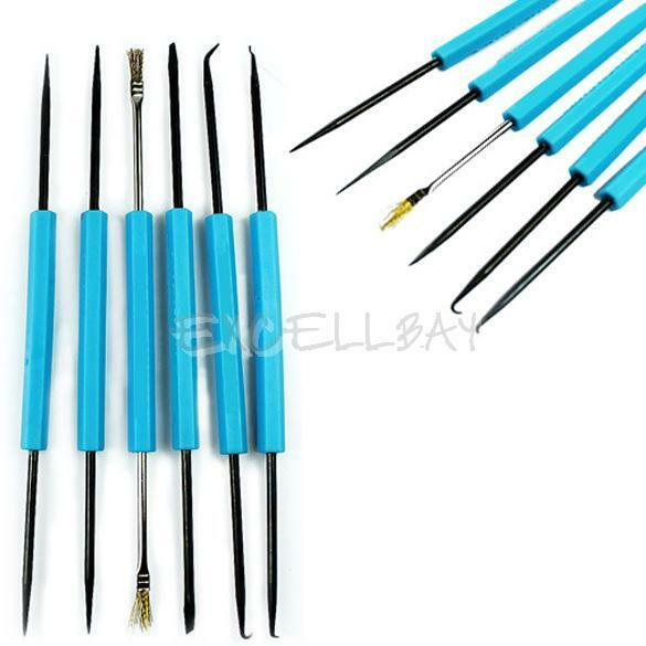 6 PCS Professional Steel Solder Assist Disassembly Repair Assembly Weld Tools